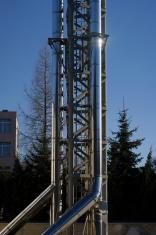 Steel chimney