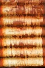 Rusty iron frame