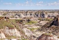 The Canadian Badlands of Drumheller, Alberta