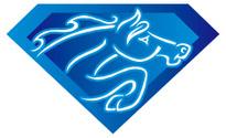 Blue Diamond Horse