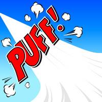 Puff! Comic Speech Bubble, Cartoon