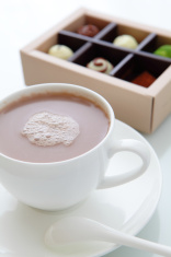 delicious handmade sweet chocolate and hot cocoa