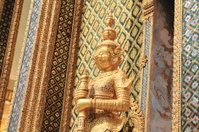 Yak at Wat Phra Kaew in Bangkok, Thailand