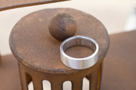 Wedding Rings at Reception