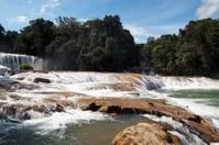 Cataratas de Agua Azul en Chiapas, Mexico