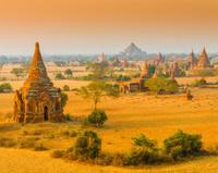 Ancient temples in Bagan, Myamar (Burma)