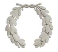 stone laurel wreath