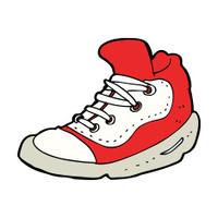 cartoon sneaker