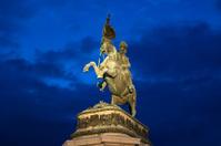 Equestrian statue of Archduke Charles- Heldenplatz, Vienna Austr