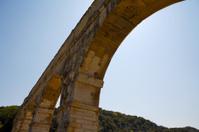Roman Arch of Pont du Gard aqueduct 1