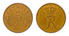 retro coin of denmark