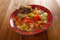 Traditional Bulgarian soup chorba