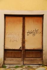 Old Wooden Door in Tuscany