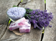 lavender sea salt and soap