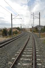 Eisenbahnschienen - Spanien