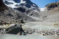 Glacial Melt Water from Steinalp Glacier, Switzerland Susten Pas