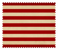 Postage stamp: US Naval Jack