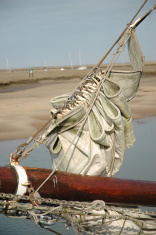 gathered sail