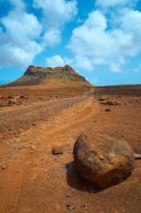 Cape Verde Desert Landscape