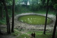 meteorite crater in Kaali