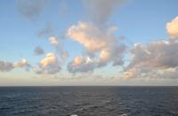 Baltic Sea at evening.
