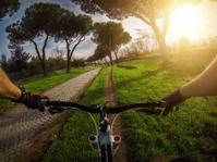 Mountain Bike on the Via Appia Antica and Aqueduct