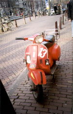 Amsterdam Vespa