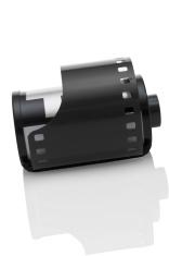 Roll of 35mm camera film