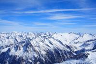 Mountain peaks - Hintertux Glacier, Austria