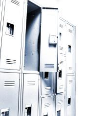 Blue tone lockers
