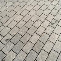 Cobble sidewalk