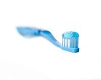Blue toothbrush