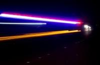 Police car speed