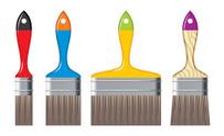 colour brushes