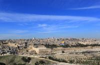 Jerusalem old city panorama