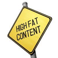 High Fat Content Warning