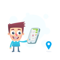 Use gps navigation on the tablet