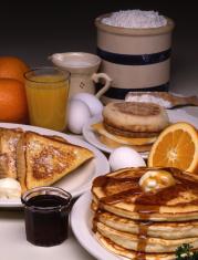 Breakfast Ingredients 4x5 Film