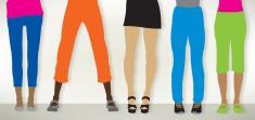 Pants, Female Legs - Fashion Clothes