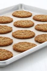 Fresh baked oatmeal cookies