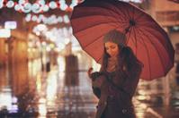 Nightlife under the umbrella