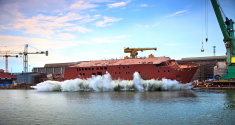 Launching a ship