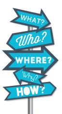 Question arrows