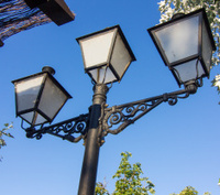 nice old style street lamp
