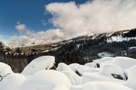 Winterlandscape,Dolomites,Italy