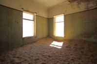 Inside Kolmanskop Ghost Town