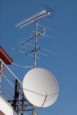 Antennas of different types
