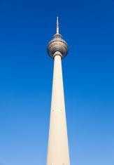 Fernsehturm, TV Tower, in Berlin, Germany.