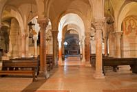 Verona - Lower romanesque church in basilica San Zeno