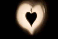 Heart Symbols Shadows